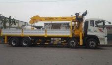 Xe cẩu 12 tấn Dongfeng - xe 4 chân Dongfeng lắp cẩu giá 2 tỷ 490 tr tại Hà Nội