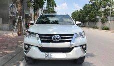 Bán Toyota Fortuner 2.7 AT sản xuất năm 2017, màu trắng giá 1 tỷ 220 tr tại Hà Nội