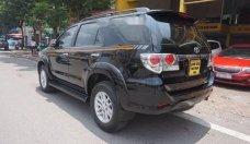 Cần bán Toyota Fortuner V AT sản xuất năm 2013, màu đen chính chủ giá 728 triệu tại Hà Nội