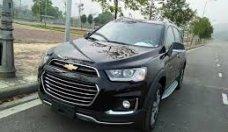 Cần bán gấp Chevrolet Captiva đăng ký lần đầu 2017, màu đen chính chủ, giá 710triệu giá 710 triệu tại Tp.HCM