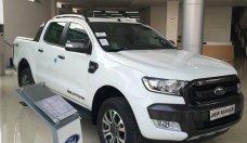 Bán Ford Ranger Wildtrak 3.2 4x4 đời 2018, màu trắng, hỗ trợ trả góp 90% tại Quảng Ninh giá 925 triệu tại Hà Nội