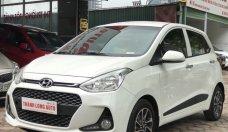 Bán xe Hyundai Grand i10 1.2AT 4 phanh đĩa, cân bằng điện tử, năm sản xuất 2018, màu trắng giá 422 triệu tại Hà Nội