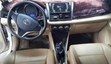 Bán Toyota Vios E 1.5MT màu trắng, số sàn, sản xuất 2017 mẫu mới giá 498 triệu tại Tp.HCM