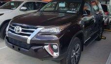 Bán xe Toyota Fortuner 2.8V (4×4) AT sản xuất năm 2018, màu nâu, nhập khẩu nguyên chiếc giá 1 tỷ 354 tr tại Tp.HCM