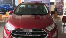 Cần bán xe Ford EcoSport đời 2018, màu đỏ giá cạnh tranh giá 593 triệu tại Tp.HCM