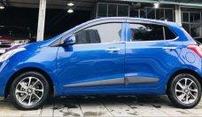 Bán Hyundai Grand i10 đời 2017, màu xanh   giá 418 triệu tại Hà Nội