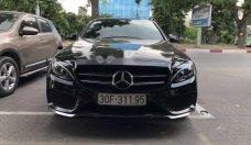 Cần bán Mercedes C300 AMG năm sản xuất 2017, màu đen giá 1 tỷ 820 tr tại Hà Nội
