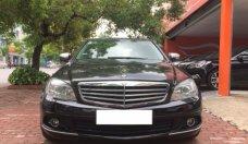 Cần bán lại xe Mercedes C200K 2008, màu đen giá 430 triệu tại Hà Nội
