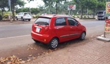 Cần bán lại xe Chevrolet Spark sản xuất 2008, màu đỏ số sàn giá 125 triệu tại Đắk Lắk