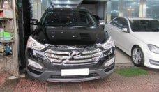 Bán Hyundai Santa Fe 2.2 đời 2013, màu đen, nhập khẩu nguyên chiếc   giá 900 triệu tại Hà Nội