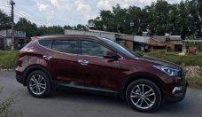 Bán Hyundai Santa Fe 2018, màu đỏ xe gia đình giá 1 tỷ 198 tr tại Bình Dương