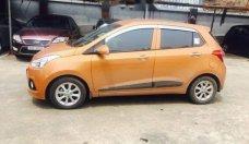 Bán xe Hyundai Grand i10 1.2AT đời 2016, xe nhập Ấn, màu cam giá 410 triệu tại Hà Nội