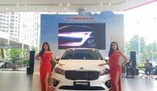 Bán ô tô Kia Sedona đời 2018, màu trắng, giá tốt  giá 1 tỷ 209 tr tại Hà Nội