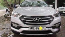 Cần bán gấp Hyundai Santa Fe đời 2017, màu trắng, giá tốt giá 1 tỷ 125 tr tại Hà Nội