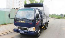 Xe tải Jac 2T4 mui bạt đời 2018, màu xanh lam giá 295 triệu tại Tp.HCM
