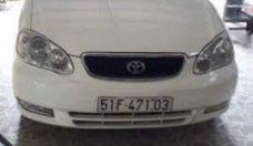 Bán Toyota Corolla altis 1.3MT sản xuất 2003, màu trắng, xe nhập giá 230 triệu tại Bình Dương