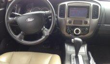 Bán xe Ford Escape XLS 2.3L 4x2 AT năm 2009, màu bạc xe gia đình giá 383 triệu tại Hà Nội