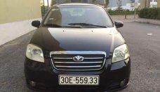 Cần bán gấp Daewoo Gentra sản xuất 2009, màu đen số sàn, giá tốt giá 180 triệu tại Hà Nội