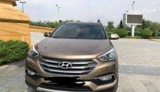 Bán ô tô Hyundai Santa Fe 2016, full option, 2 cầu, máy dầu giá 1 tỷ 130 tr tại Hà Nội
