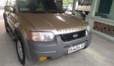 Cần bán Ford Escape XLT đời 2003, màu vàng cát, số tự động, giá chỉ 165 triệu giá 165 triệu tại Tp.HCM