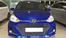Cần bán lại xe Hyundai Grand i10 1.2 AT đời 2018 màu xanh lam, giá 430 triệu, nhập khẩu giá 430 triệu tại Tp.HCM