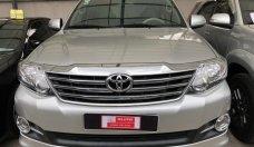Bán xe toyota Fortuner 2.7V đời 2015, màu bạc, giá thương lượng với khách hàng có thiện chí mua xe giá 860 triệu tại Tp.HCM