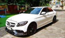 Cần bán xe Mercedes C300 AMG 2015, màu trắng như mới giá 1 tỷ 560 tr tại Hà Nội