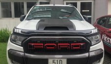 Bán Ford Ranger WT3.2 năm sản xuất 2016, màu trắng, nhập khẩu nguyên chiếc, giá 768tr  giá 768 triệu tại Tp.HCM