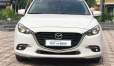 Cần bán Mazda 3 HB - FL sx 2017, màu trắng giá 695 triệu tại Hà Nội