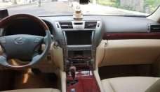 Bán Lexus LS460L đời cuối 2006, đầu 2007, hàng nhập Mỹ, màu cafe sữa nguyên bản giá 1 tỷ 30 tr tại Tp.HCM