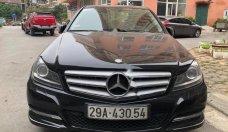 Cần bán Mercedes C200 năm sản xuất 2011, màu đen giá cạnh tranh giá 672 triệu tại Hà Nội