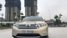 Cần bán Toyota Highlander SE 2.7 sản xuất 2011, màu vàng, xe nhập giá 1 tỷ 256 tr tại Hà Nội