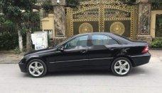 Cần bán gấp Mercedes C class đời 2004, màu đen, nhập khẩu giá 248 triệu tại Hà Nội