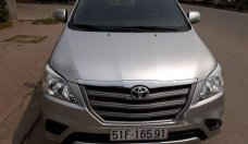 Cần bán xe Toyota Innova đời 2015, màu bạc xe gia đình giá 590 triệu tại Tp.HCM