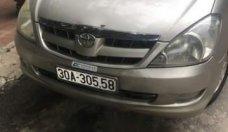 Bán Toyota Innova G sản xuất 2008, màu bạc giá 320 triệu tại Hà Nội