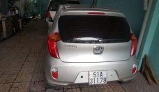 Cần bán lại xe Kia Morning AT sản xuất năm 2012, màu bạc, nhập khẩu giá 310 triệu tại Tp.HCM