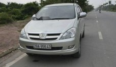 Cần bán lại xe Toyota Innova G đời 2007, màu bạc giá cạnh tranh giá 332 triệu tại Hà Nội