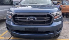 Bán Ford Ranger XLS AT màu xanh thiên thanh, bổ sung tính năng tay lái trợ lực điện, giới hạn tốc độ giá 650 triệu tại Hà Nội