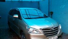 Bán Toyota Innova 2.0 MT 2016, màu vàng cát giá 660 triệu tại Hà Nội
