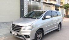Bán Toyota Innova 2.0 MT 2015, màu bạc số sàn giá 560 triệu tại Tp.HCM
