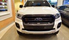 Bán Ford Ranger 2 cầu Biturbo đời 2018, màu trắng, nhập khẩu giá 630 triệu tại Hà Nội