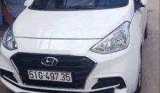 Cần bán lại xe Hyundai Grand i10 sản xuất năm 2017, màu trắng, giá tốt giá 330 triệu tại Tp.HCM