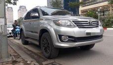 Cần bán Toyota Fortuner sản xuất 2016 màu bạc, giá tốt giá 895 triệu tại Hà Nội