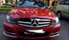 Bán Mercedes C200 đời 2011, màu đỏ, nhập khẩu   giá 680 triệu tại Tp.HCM