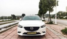 Cần bán lại xe Mazda 6 năm sản xuất 2016, màu trắng chính chủ giá 740 triệu tại Hà Nội