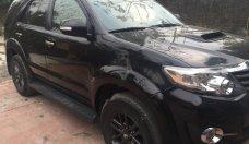 Bán Toyota Fortuner 2015, màu đen chính chủ, giá tốt giá 828 triệu tại Hà Nội