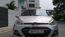 Cần bán Hyundai Grand i10 1.2 MT Base đời 2015, màu bạc, xe nhập như mới giá 295 triệu tại Hà Nội