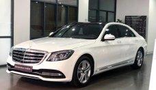 Bán Mercedes S450L màu trắng - Xe chính hãng đã qua sử dụng giá 3 tỷ 580 tr tại Hà Nội
