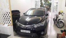 Cần bán gấp Toyota Corolla altis đời 2017, màu đen chính chủ giá 730 triệu tại Hải Phòng