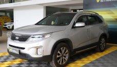Bán Kia Sorento New 2.4AT năm sản xuất 2014, màu bạc giá 696 triệu tại Tp.HCM